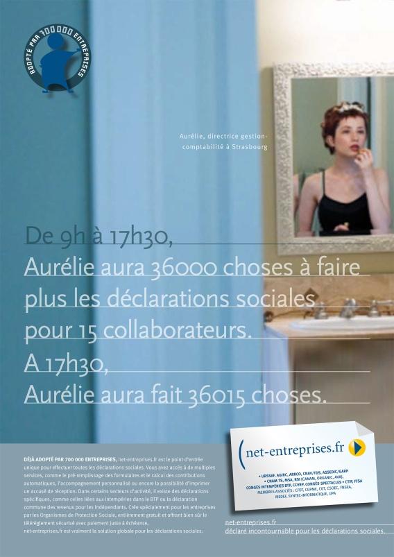Net-entreprises Presse affichage web